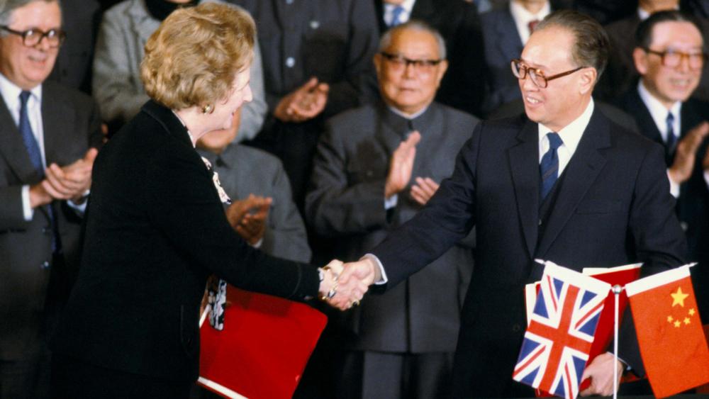 The secret negotiations behind the Hong Kong handover -