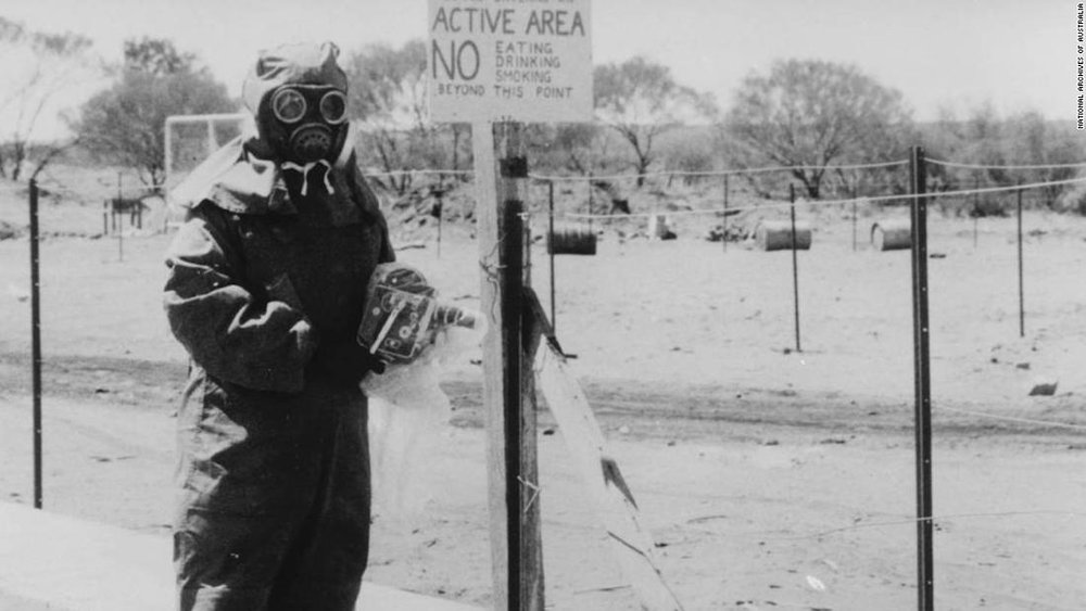Australia is still dealing with the legacy of the UK's nuclear bomb tests, 65 years on -
