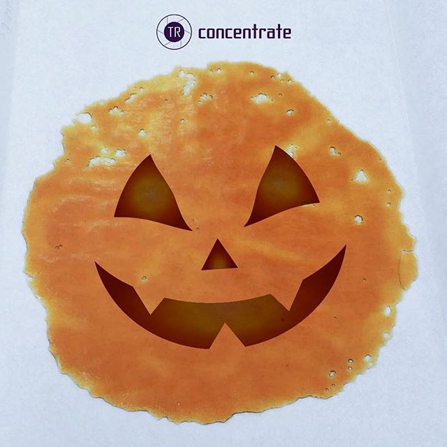 Happy Halloween 🎃  May today be the day that you eat, drink, (smoke), and be scary 👻  #TRConcentrates
