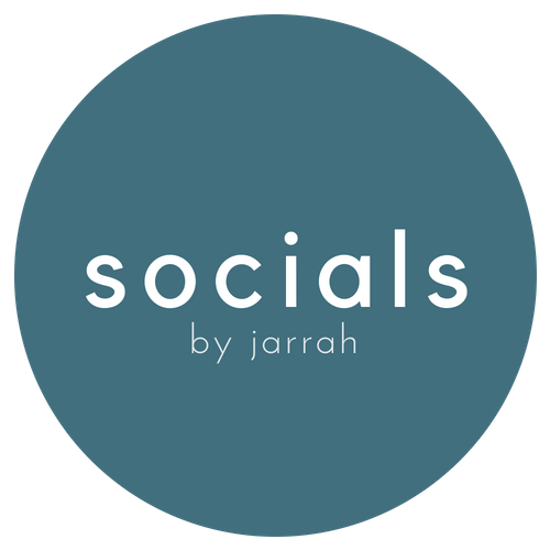 SOCIALS BY JARRAH | Social Media Management & Strategy
