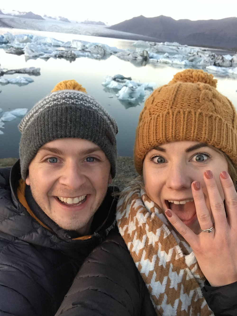 Dan and Grace's Ethical Diamond Engagement Ring