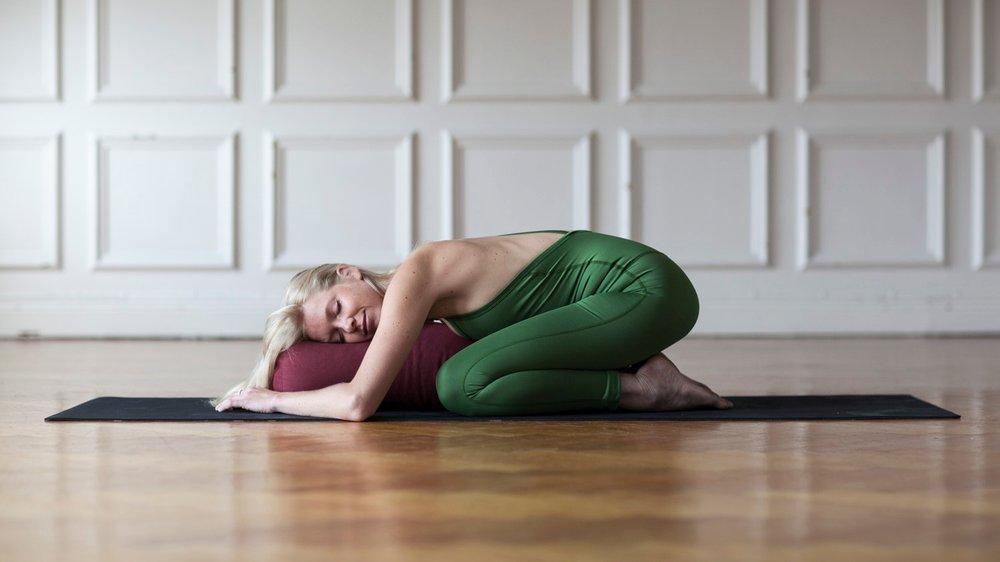 Johanna Wickström - om meditation & yinyoga