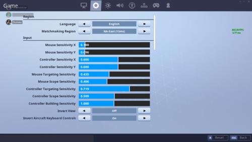 Controller Targeting Sensitivity Fortnite Xbox   Fortnite