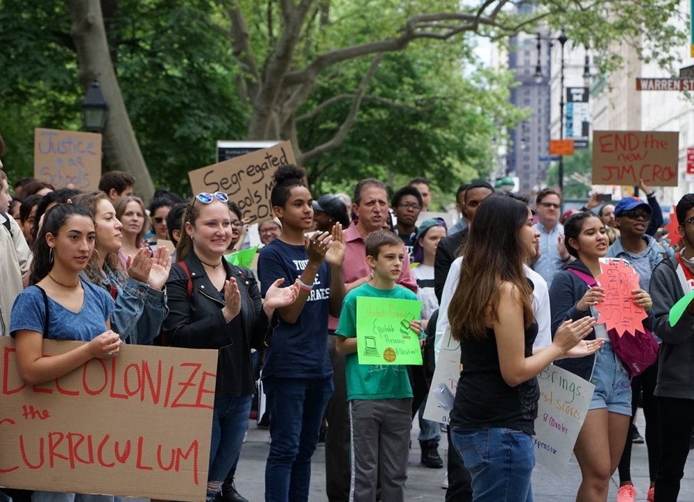NYC's Public Schools are in Crisis. - Our schools are deeply segregated by race, socioeconomic status, academic ability, and language status. This segregation isn't just about housing, it's also the result of city's own exclusionary student assignment policies--including zones, screens, exams, and school choice.