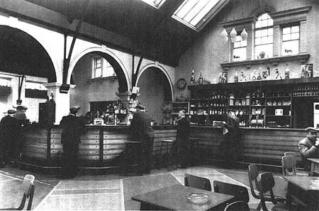 Inside the Dean after the alterations in 1962