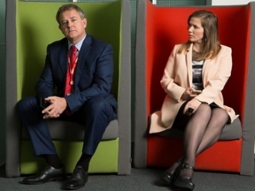 W1A - Series 2   Costume Design for the BBC comedy staring Hugh Bonneville, Jessica Hynes, Sarah Parish, Jason Watkins and many more.