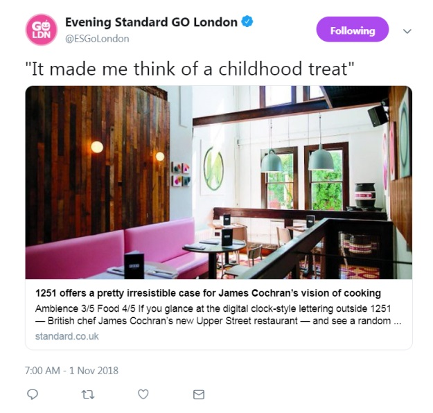 Evening Standard GO London (Twitter) 1st November 2018.jpg