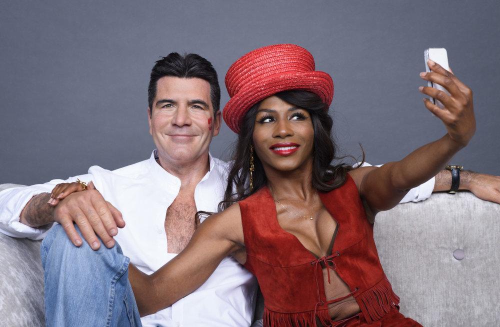 Simon Cowell with Sinitta photo.jpg