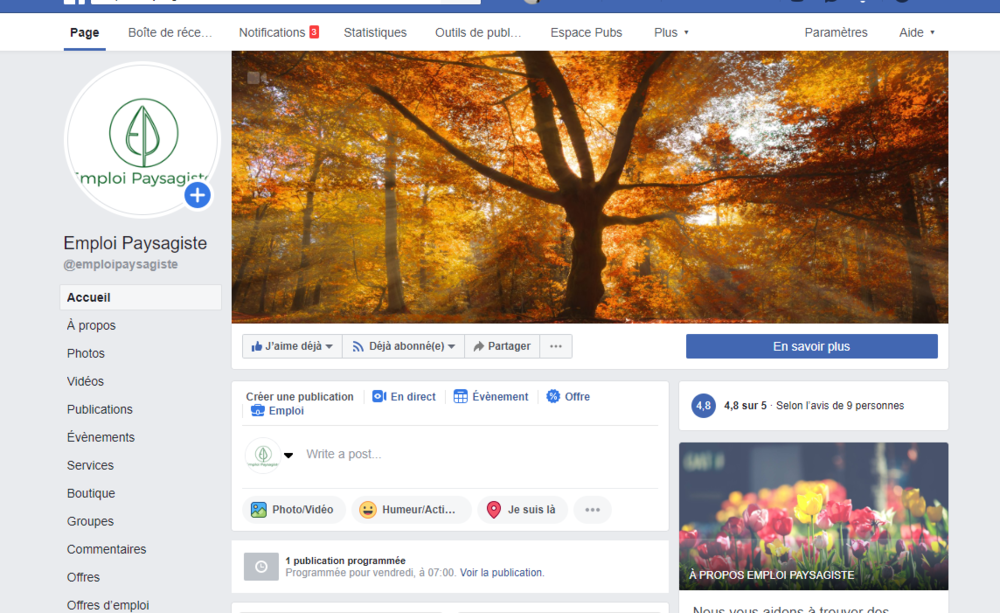 Une page Facebook incroyable -