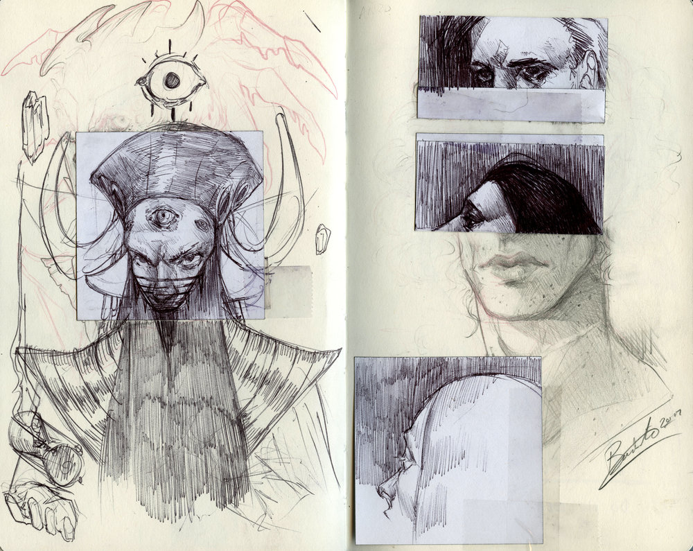 Sketchbook Page 01