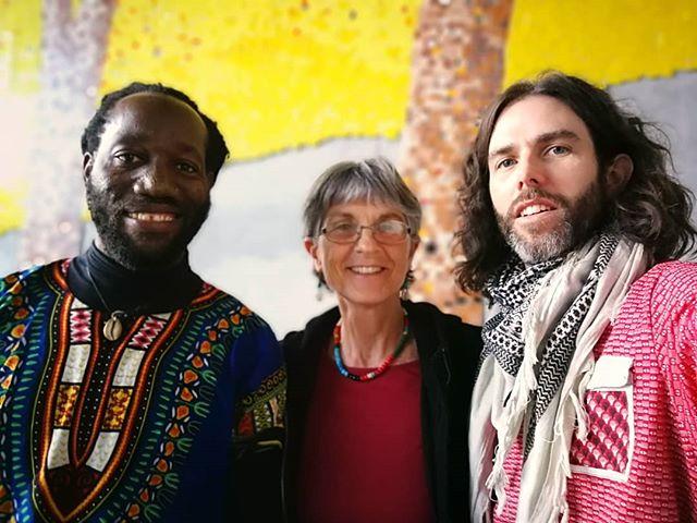 Looking forward to a workshop at Isivavana for @londonschoolofeconomics with Baja of Kokoro Drumming, Julie and @jamesvanminnen !