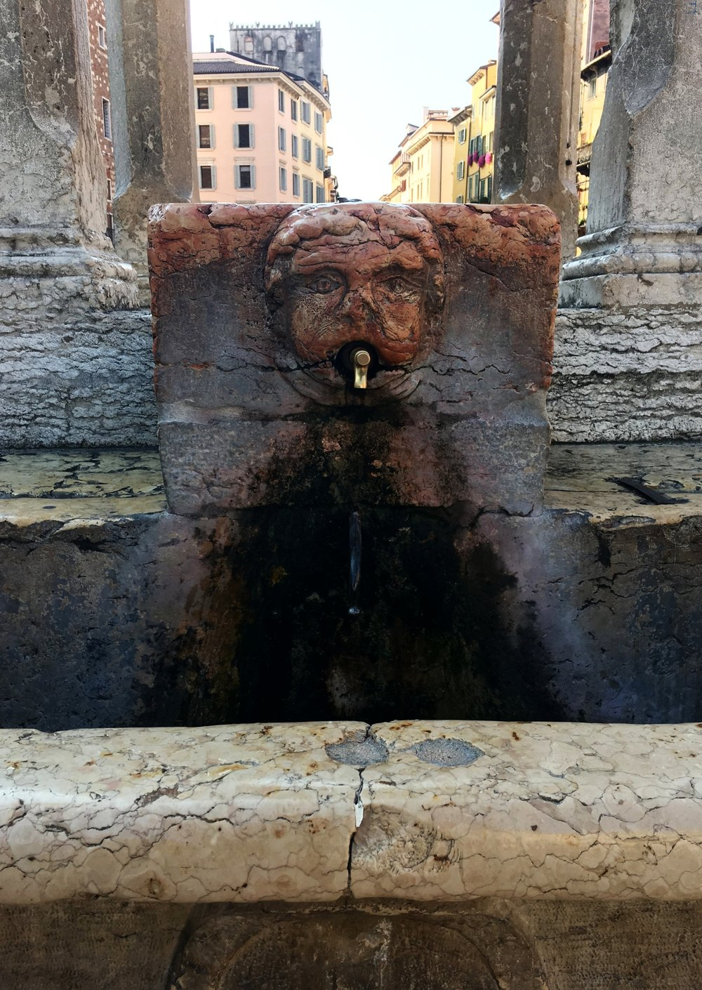 Fontanelle - Fontanelle are public water fountains with safe drinking water. They're in every Italian city I've visited, although some cities have more than others. They are ideal for refilling your water bottle and a map for any city can be found here.