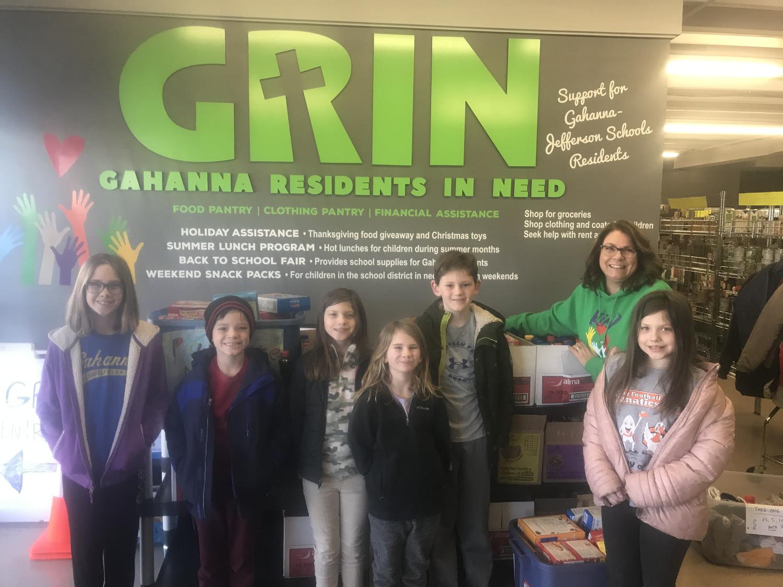 Thank you Gahanna-Jefferson Schools — GRIN