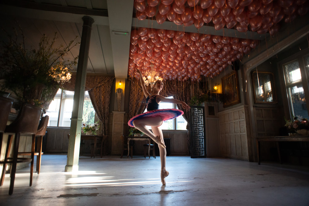 Dancer: Liberty  Tutu by Baby Bunheads  Photographer: Karolina Webb  Location : Paradise by Kensal Rise