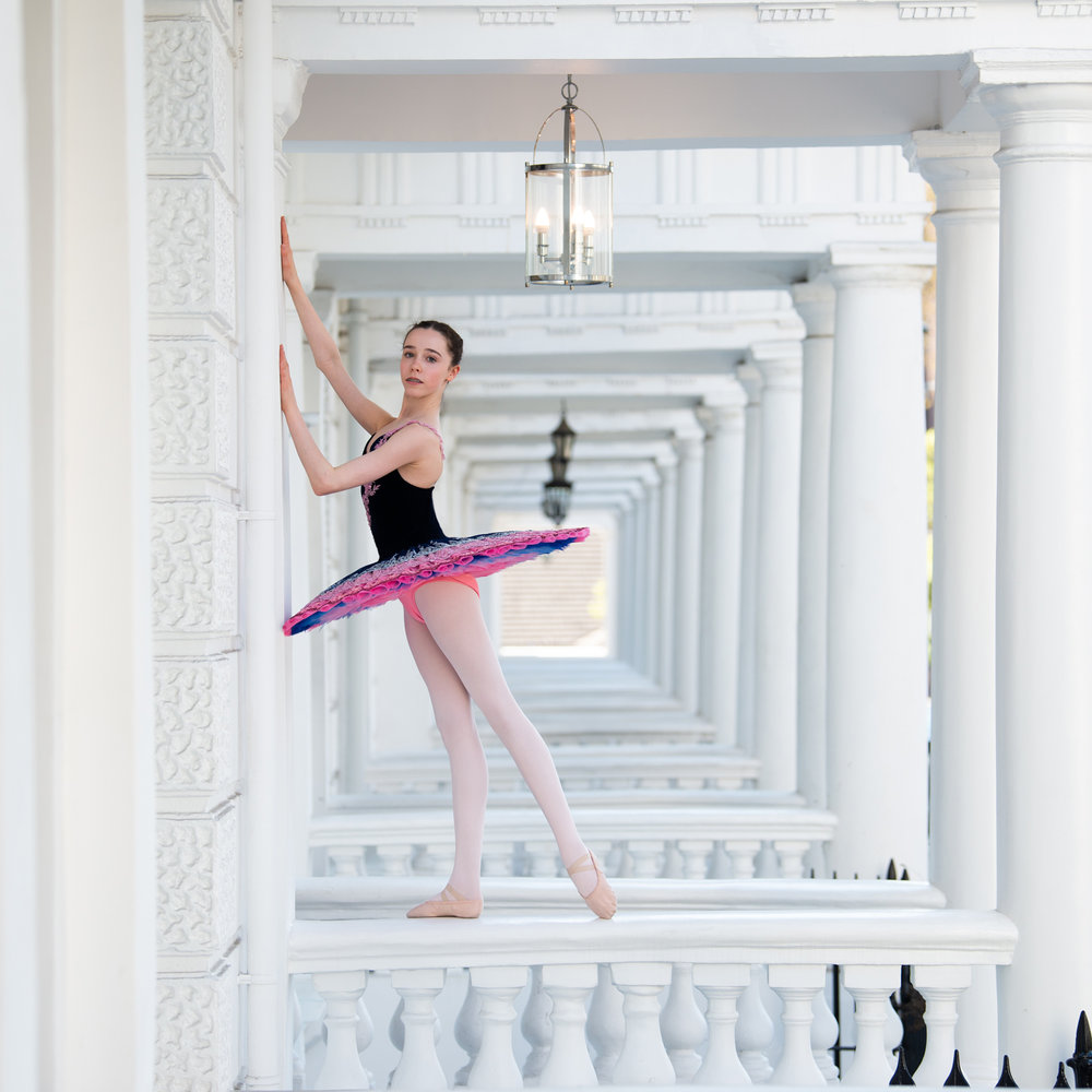 Dancer: Liberty  Tutu by Baby Bunheads  Photographer: Karolina Webb