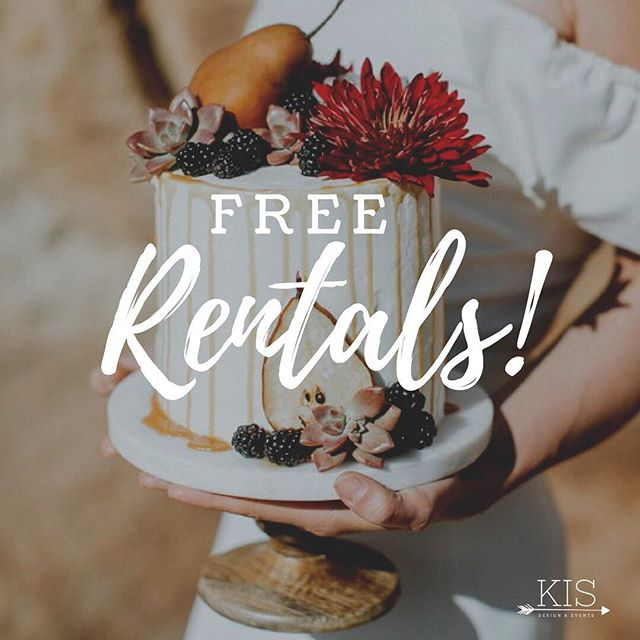 Hey there! Would you rather not have to buy all those little things that start to add up for an event like cake stands, easels, signs, votives etc.? Welp, thought I'd kick off the weekend right and offer FREE rentals to anyone who books a design or planning package with me from now till the end of the month! :) ⠀⠀⠀⠀⠀⠀⠀⠀⠀ DM me for more dets and have a great weekend! ⠀⠀⠀⠀⠀⠀⠀⠀⠀ ⠀⠀⠀⠀⠀⠀⠀⠀⠀ ⠀⠀⠀⠀⠀⠀⠀⠀⠀ ⠀⠀⠀⠀⠀⠀⠀⠀⠀ #keepitsimple #design #intention #weddingcoordinator #midwestwedding #celebratelove #bohemianwedding  #madisonwedding #wisconsinwedding #keepitsimple #keepitreal #eventdesign #eventplanner #wievents #madisonevents #eventrental #madisonwi #weddingfloral #eventdesign #midwestwedding #midwestplanner #madisonwiwedding #wisconsinwedding #kisevent #bohostyle #weddingrentals  #weddingcoordination #wieventplanner #wiweddingplanner #thatsdarling