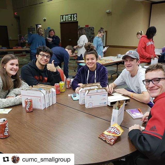 #Repost @cumc_smallgroup with @get_repost ・・・ It was absolute chaos last night at small group but we got 80 college care packages filled and ready to send to our @cumc_youthgroup almuni friends!