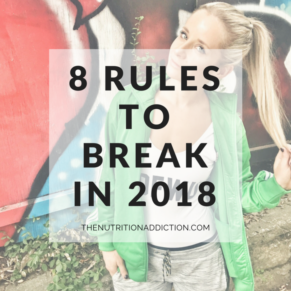 weight loss rules to break