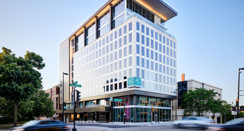 AC Hotel Madison downtown - 1 North Webster StreetRoom Rate: $82, and $169Call to reserve: 608-286-1337Group Code: Bolz Center CollegiumRoom Release Date: August 13, 2018 - BLOCK HAS DROPPED