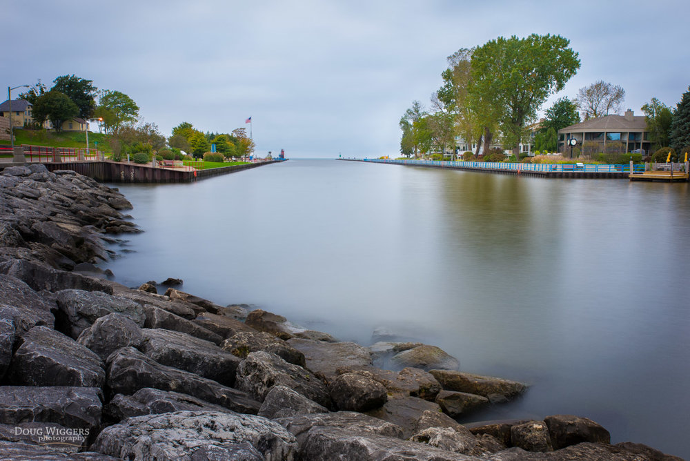 South Haven Harbor. When we lived here we spent countless summer nights walking past it, along with many other residents and tourists appreciative of the inviting view.
