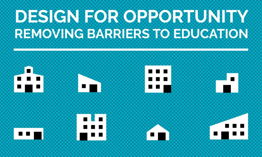 Oportunidad de diseño  Eliminando obstáculos para la educación