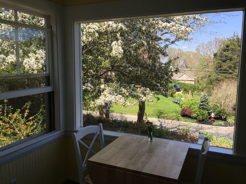 Main House: Charming Three Season Porch