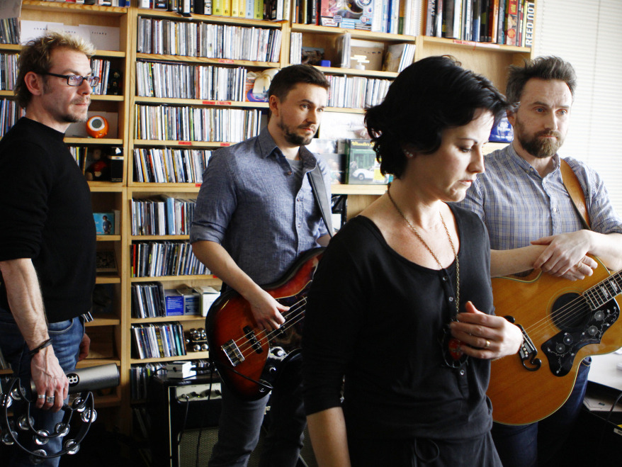 NPR's Tiny Desk Concert is the MTV Unplugged for the internet age.     nprmusic :        After a long hiatus,  The Cranberries  is about to return with a new album called  Roses .  But if  this performance  at the NPR Music offices is any indication, the  group isn't afraid to dip into its arsenal of early hits.