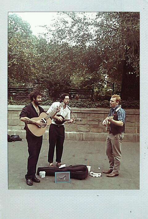 Coincidentally, my favorite bluegrass band includes many of my favorite friends.     thekeeps :     The Keeps in Union Square