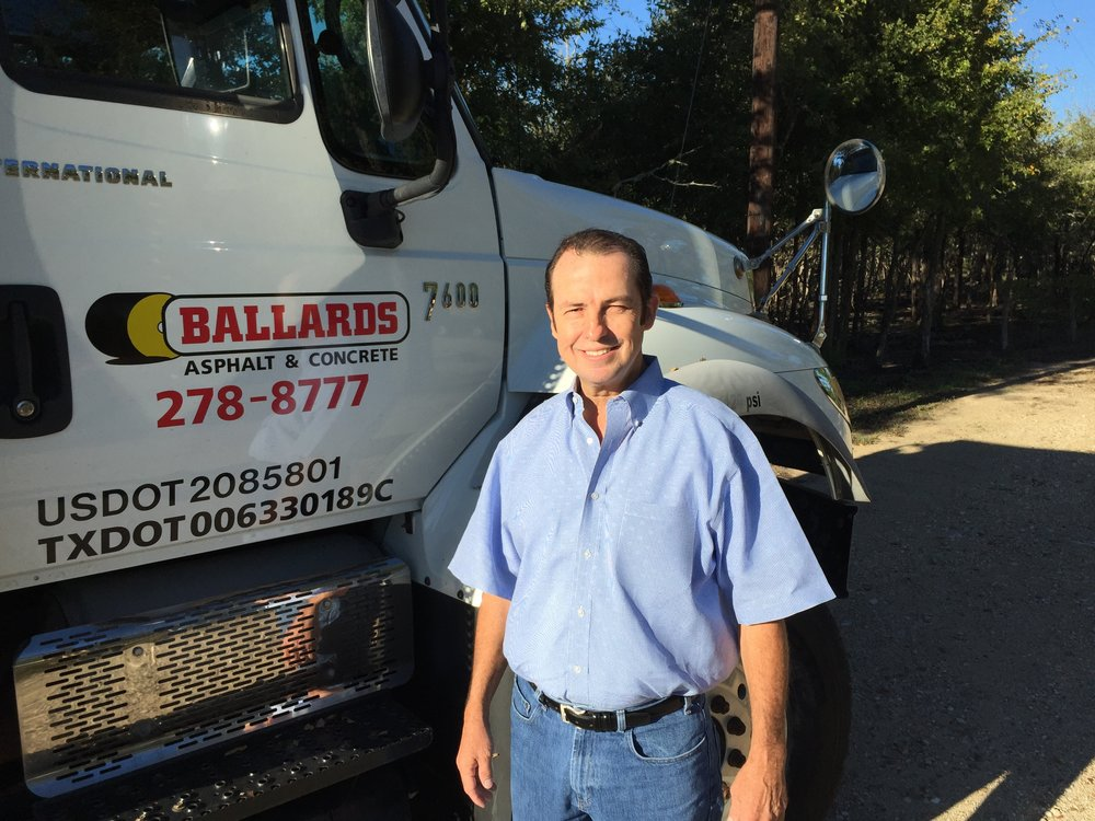 Bobby Ballard, owner of Ballards Asphalt & Concrete.