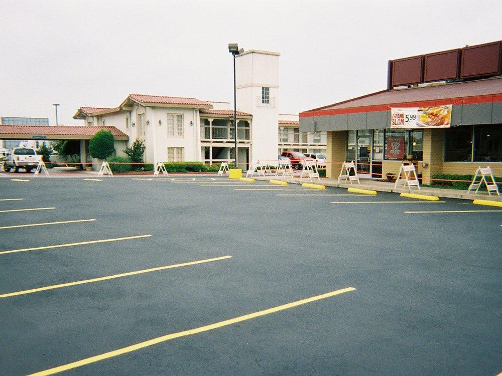 Ballards parking lot striping Austin, TX, Round Rock, Pflugerville
