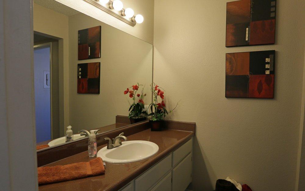 Bathroom at Aventerra Apartments
