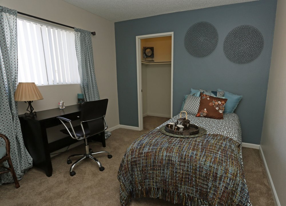 Bedroom at Aventerra Apartments