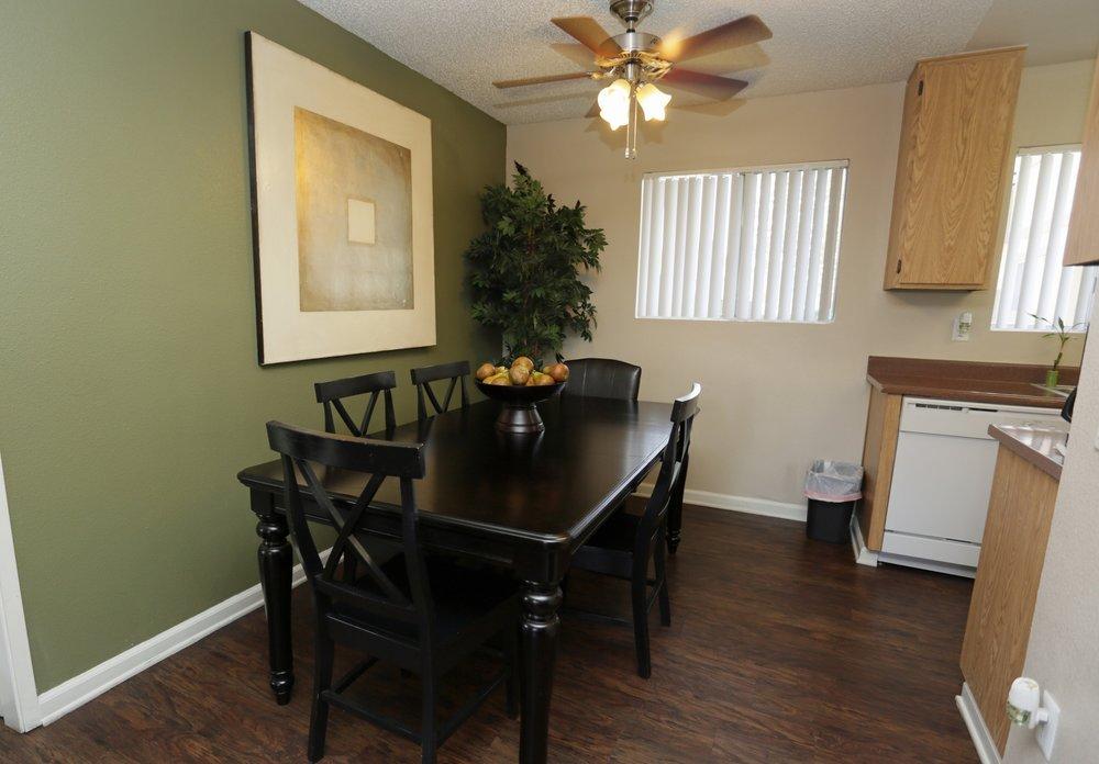Dining Room at Aventerra Apartments