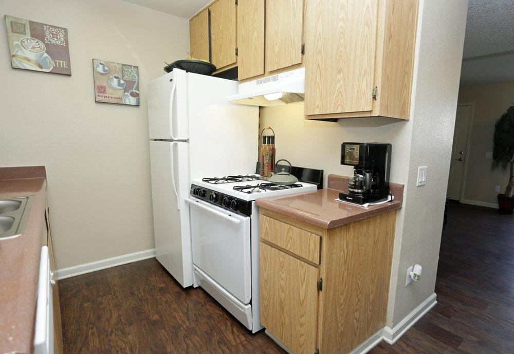Kitchen at Aventerra Apartments