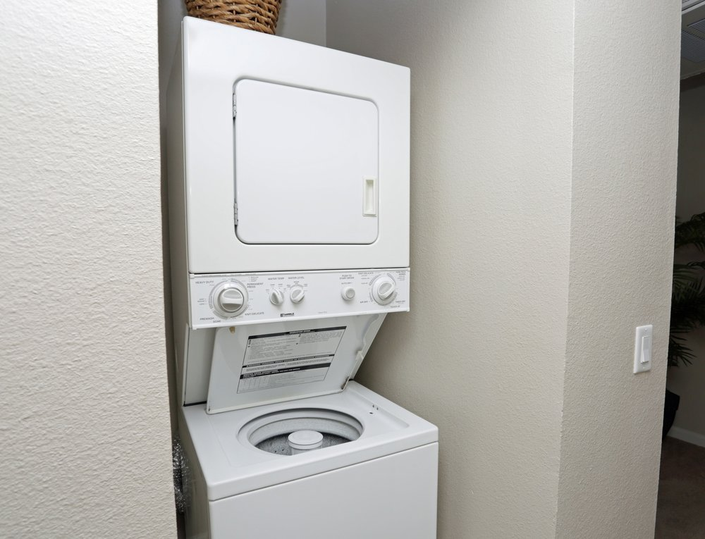 In unit Washer and Dryer at Aventerra Apartments