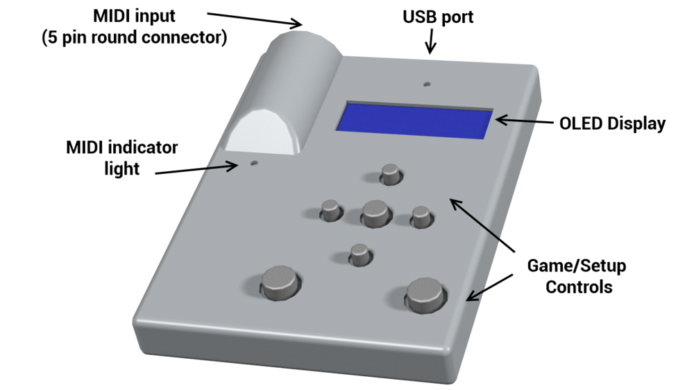 MIDI Rocker LX2 prototype