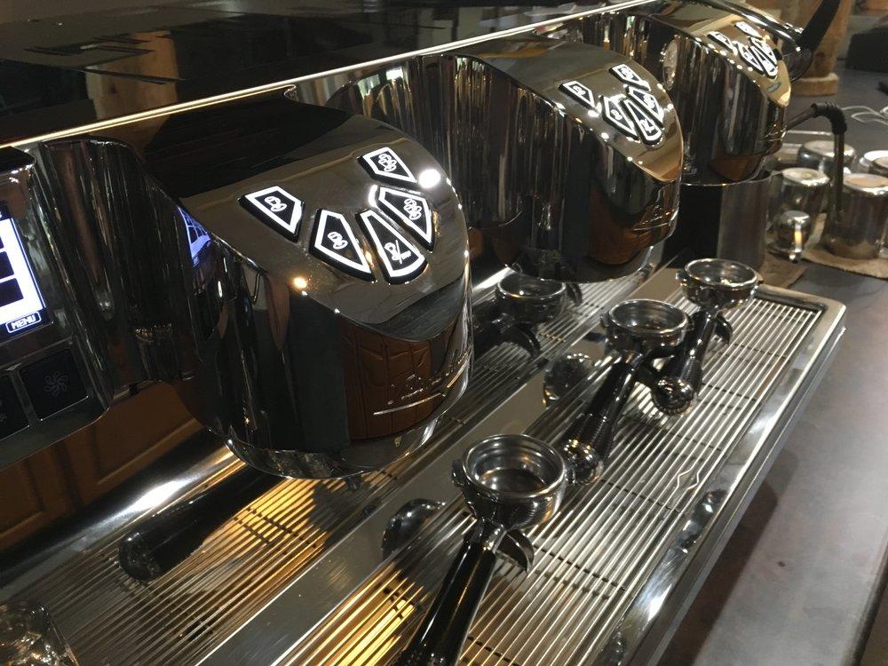 Hand crafted espresso