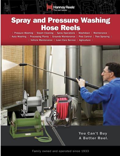 Spray & Pressure Washer Reels