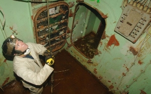 sinking the uss oriskany det cord inside ship