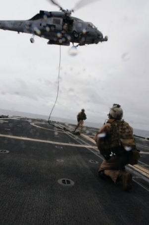 Veteran Navy EOD tech Battling PTSD and Depression ( HRST FAST ROPE PIC )