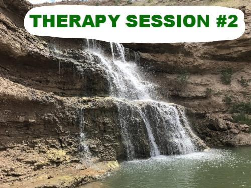 battling PTSD Depression blog therapy session