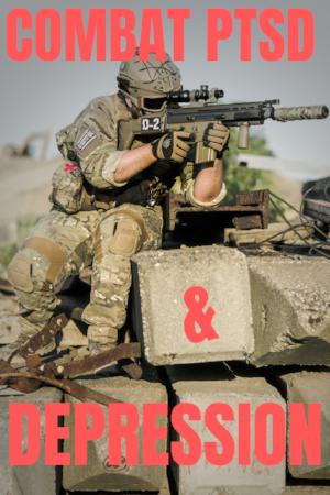combat PTSD and depression