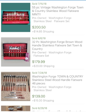 washington-forge-town-&-country-sold-prices-ebay