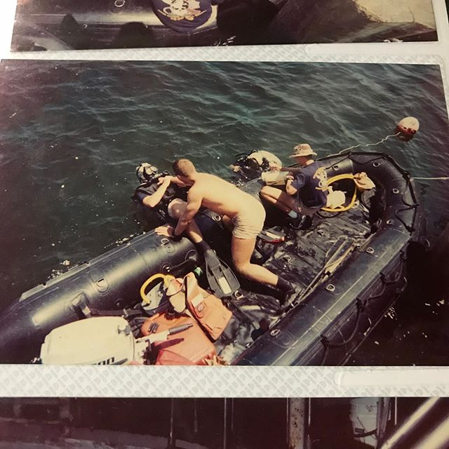 My #oldschool diving pictures from dive school.  #diving #ndstc #militarydiver #militarydivers #militarydiver