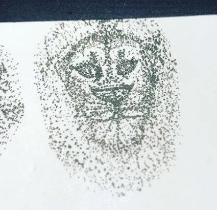 Art Therapy   idea - Pointillism