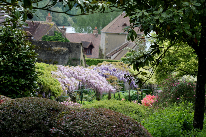 The gardens at Apremont, France