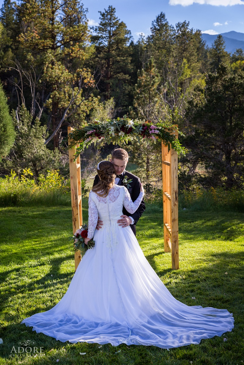Colorado flute and harp wedding ceremony music