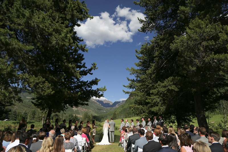 Flute and Violin Wedding Music in Vail, colorado