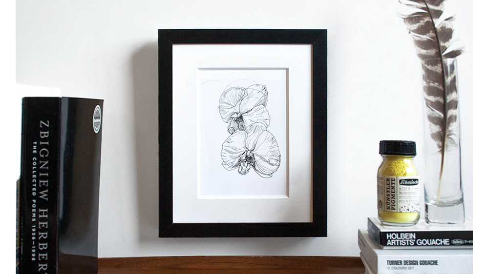 """Orchids"" Botanic Art by Melissa Carmon"