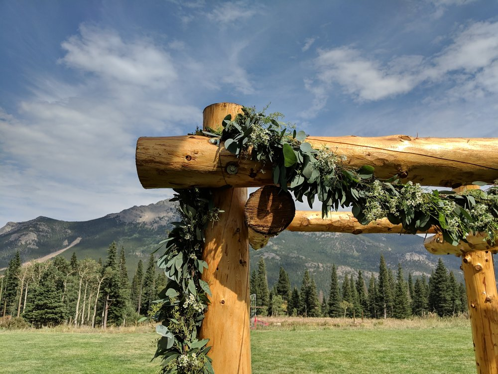 Flute quartet wedding ceremony music in estes park, Colorado